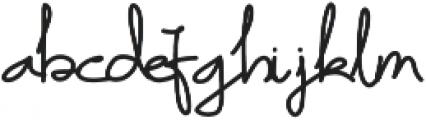 Mr_Haikal otf (400) Font LOWERCASE