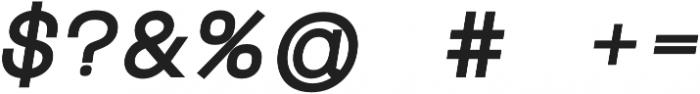 Mriya Grotesk Heavy Italic otf (800) Font OTHER CHARS