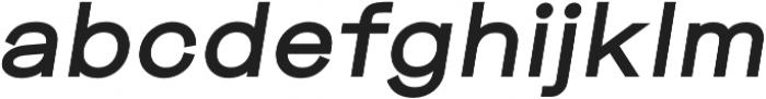 Mriya Grotesk Heavy Italic otf (800) Font LOWERCASE