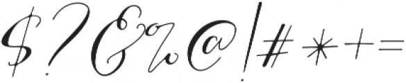 MrsStylishSwashesXtraLeft otf (400) Font OTHER CHARS