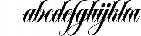 MR Brown Scirpts Font LOWERCASE