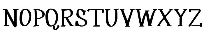 MRF Silverplume Font UPPERCASE
