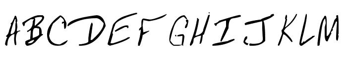 MRFBOOM Font UPPERCASE