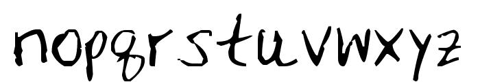 MRFBOOM Font LOWERCASE