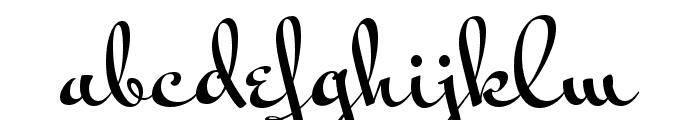 Mr Bedfort Regular Font LOWERCASE