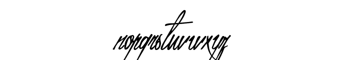 Mr Fisherman and the Shoemaker Font LOWERCASE