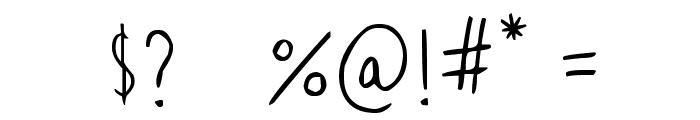 Mr. Mogollon Font OTHER CHARS