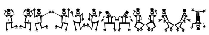 Mr Robo Funk Font UPPERCASE