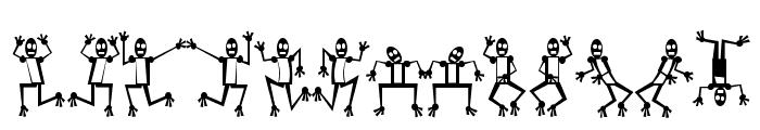 Mr Robo Funk Font LOWERCASE