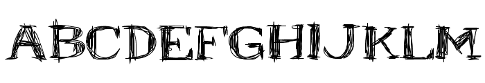 Mr.B Font UPPERCASE