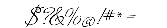 MrDeHaviland-Regular Font OTHER CHARS