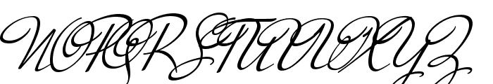 MrDeHaviland-Regular Font UPPERCASE