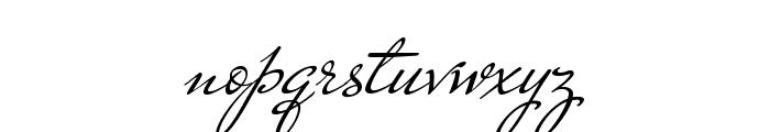 MrDeHaviland-Regular Font LOWERCASE
