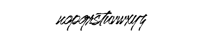 Mr.JacksonRankenstein Font LOWERCASE