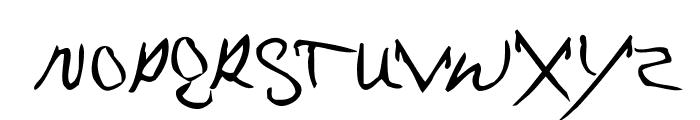 MrKlein Font LOWERCASE