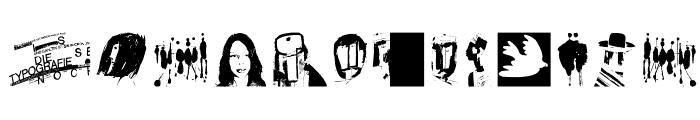 MrVector Font UPPERCASE