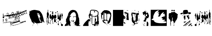 MrVector Font LOWERCASE
