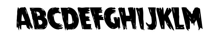 Mrs. Monster Leftalic Font LOWERCASE