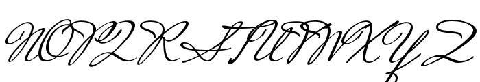 Mrs Saint Delafield Font UPPERCASE