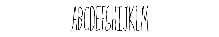 Mrs. Strange Font UPPERCASE