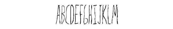 Mrs. Strange Font LOWERCASE