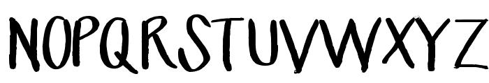 MrsKate Font UPPERCASE