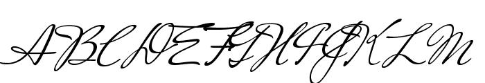 MrsSaintDelafield-Regular Font UPPERCASE