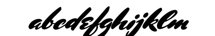 MrsSheppards-Regular Font LOWERCASE