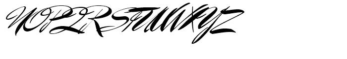 Mr Benedict Regular Font UPPERCASE