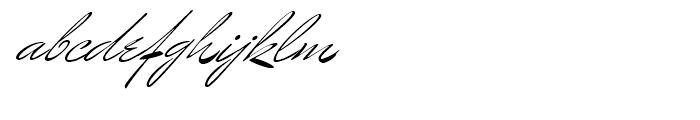 Mr Benedict Regular Font LOWERCASE