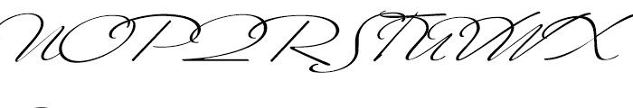 Mr Canfields Regular Font UPPERCASE