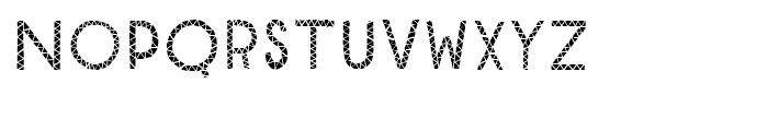 Mr Cyrk FillOneAndFillTwo Font LOWERCASE