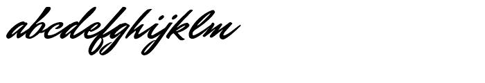 Mr Dafoe Regular Font LOWERCASE