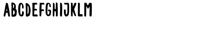 Mr Happy Background Font UPPERCASE