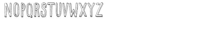 Mr Happy Outline Font UPPERCASE