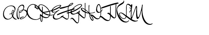 Mr Keningbeck Regular Font UPPERCASE