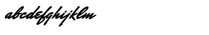 Mr Stalwart Regular Font LOWERCASE