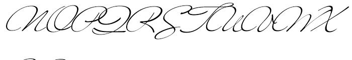 MrBlaketon Regular Font UPPERCASE