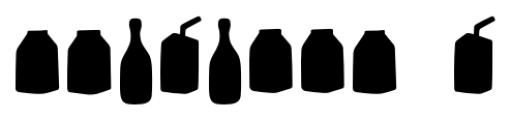 Mr Foodie Beverages Back Font OTHER CHARS