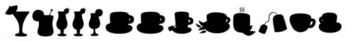 Mr Foodie Beverages Back Font UPPERCASE