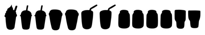 Mr Foodie Beverages Back Font LOWERCASE