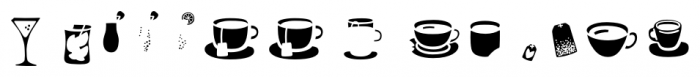 Mr Foodie Beverages Front Font UPPERCASE