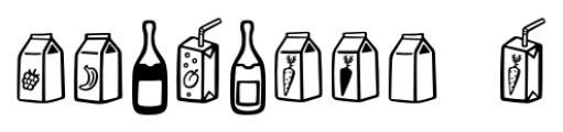 Mr Foodie Beverages Regular Font OTHER CHARS