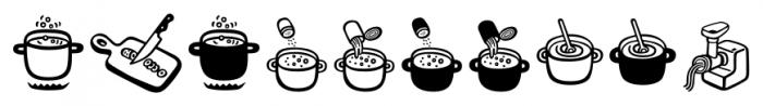 Mr Foodie Kitchen Regular Font OTHER CHARS
