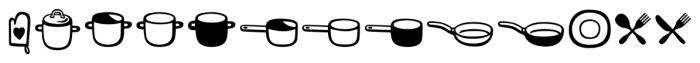 Mr Foodie Kitchen Regular Font UPPERCASE