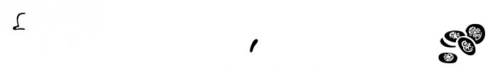 Mr Foodie Veggies 3rd Color Font LOWERCASE