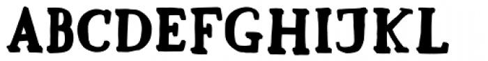 Mr Anteater Stroke Font UPPERCASE