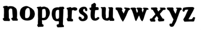 Mr Anteater Stroke Font LOWERCASE