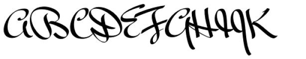 Mr Bedfort Pro Font UPPERCASE