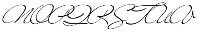 Mr Blaketon Pro Font UPPERCASE